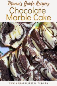 CHOCOLATE MARBLE CAKE RECIPE