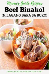 Beef Binakol