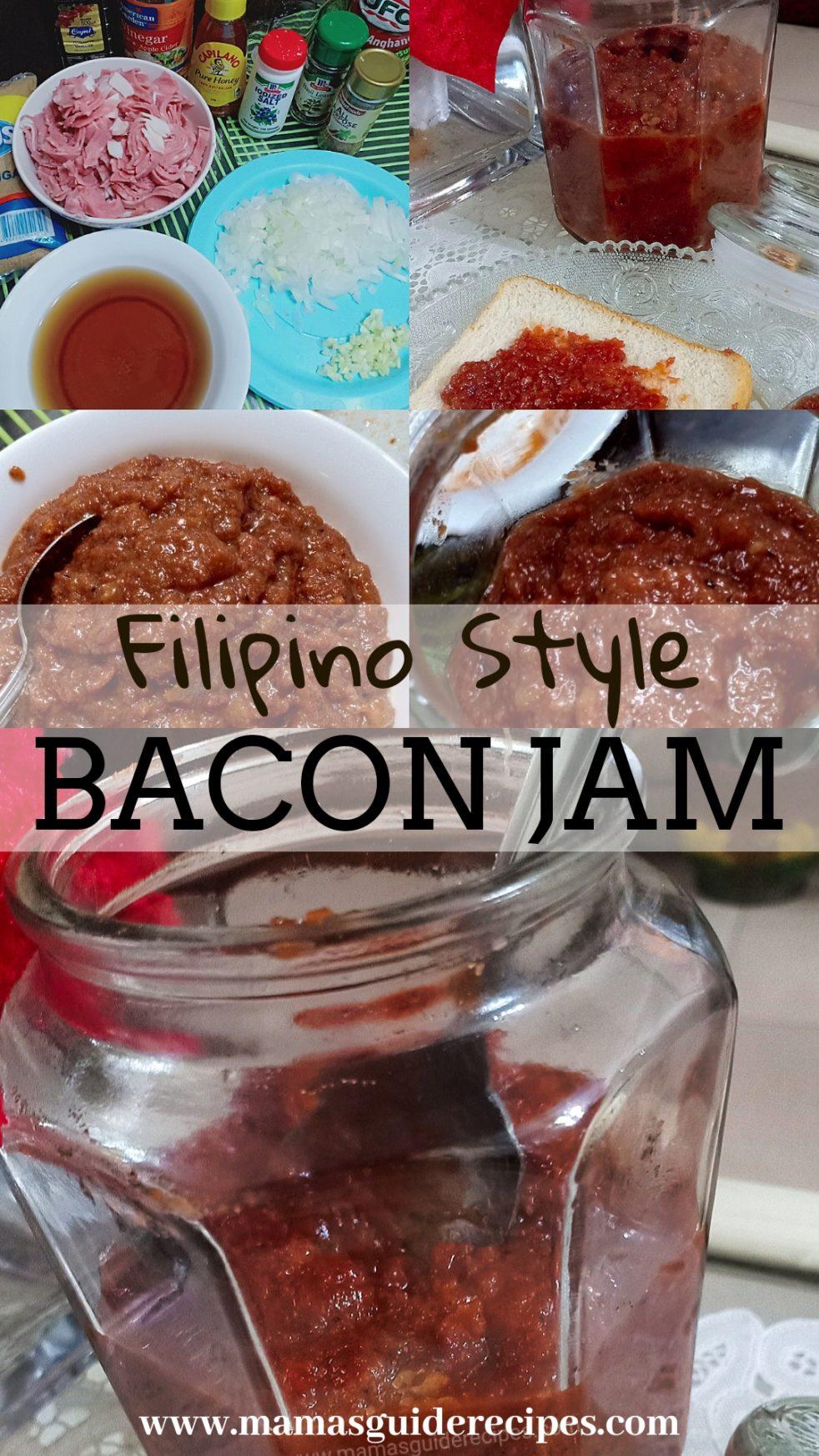FILIPINO STYLE BACON JAM
