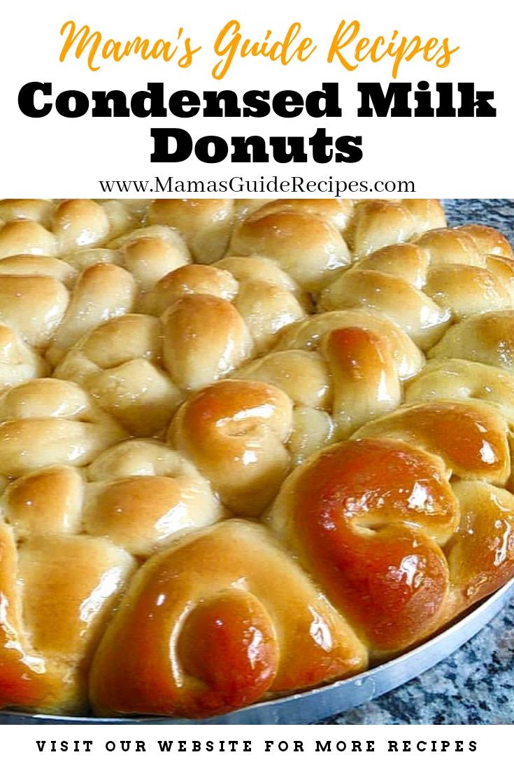 Condensed Milk Donuts