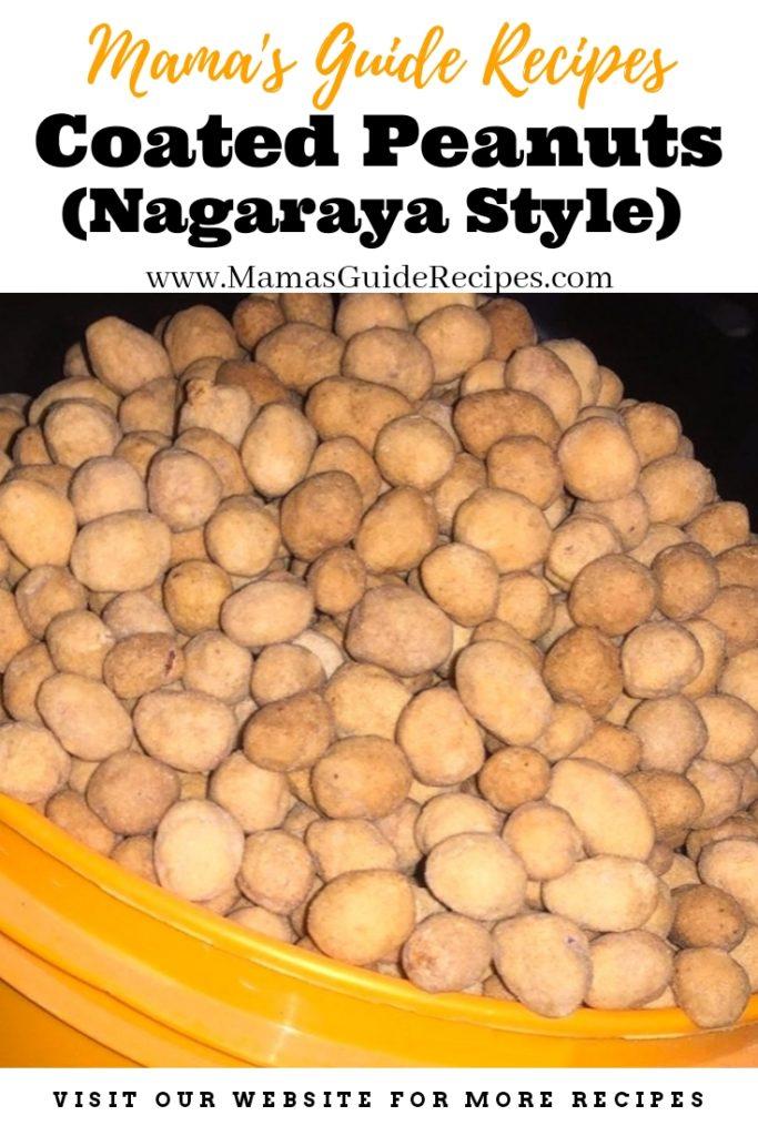 Coated Peanuts (Nagaraya Style)