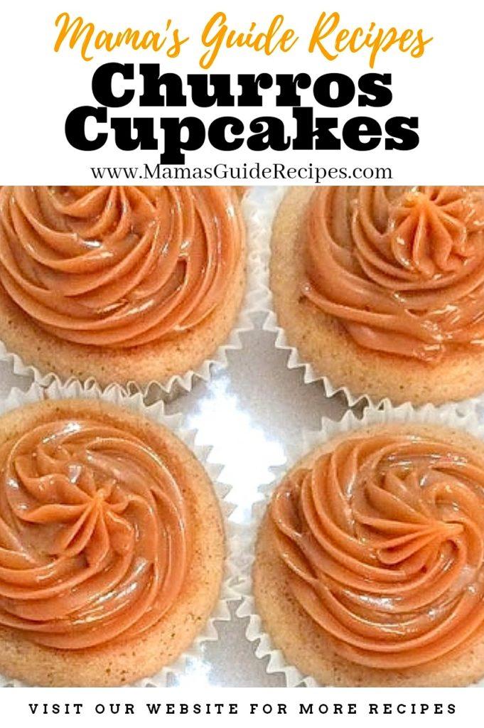 Churros Cupcakes Recipe