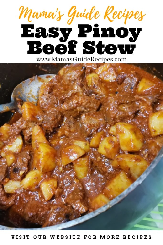 Easy Pinoy Beef Stew
