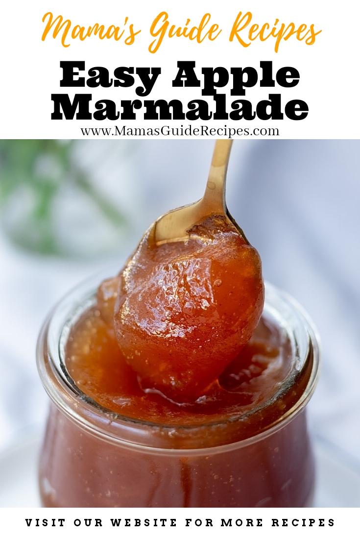 Easy Apple Marmalade