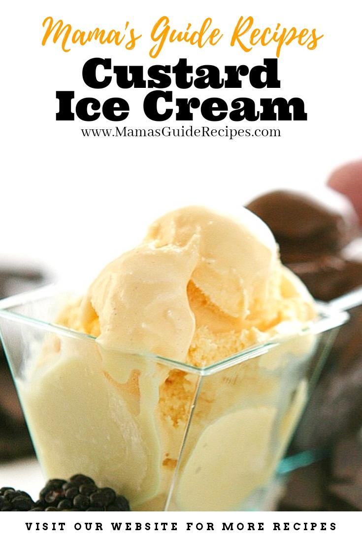 Custard Ice Cream