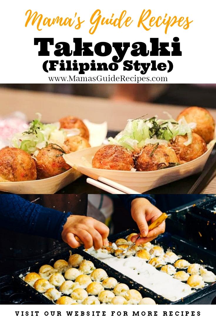 Takoyaki (Filipino Style)