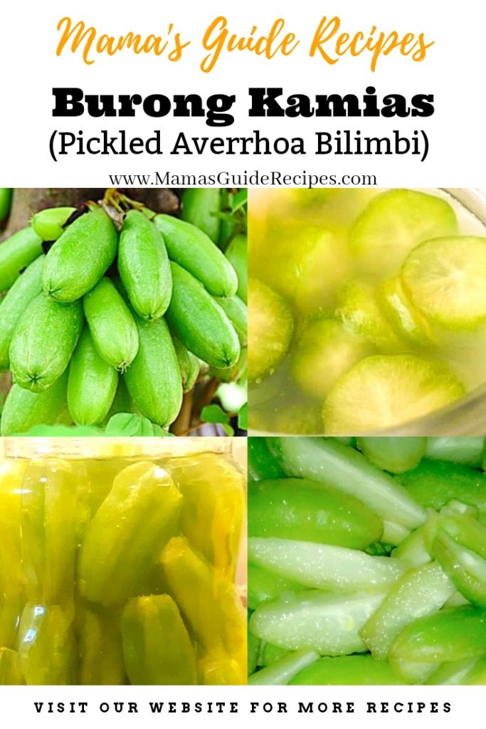 Burong Kamias (Pickled Averrhoa Bilimbi)