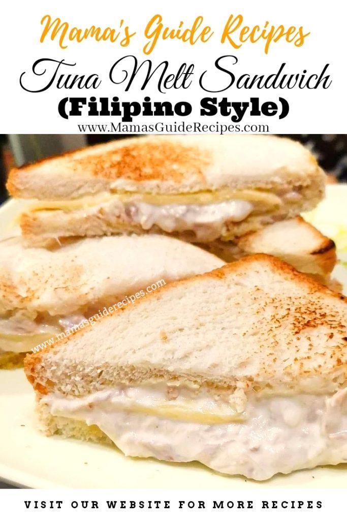Tuna Melt Sandwich (Filipino Style)