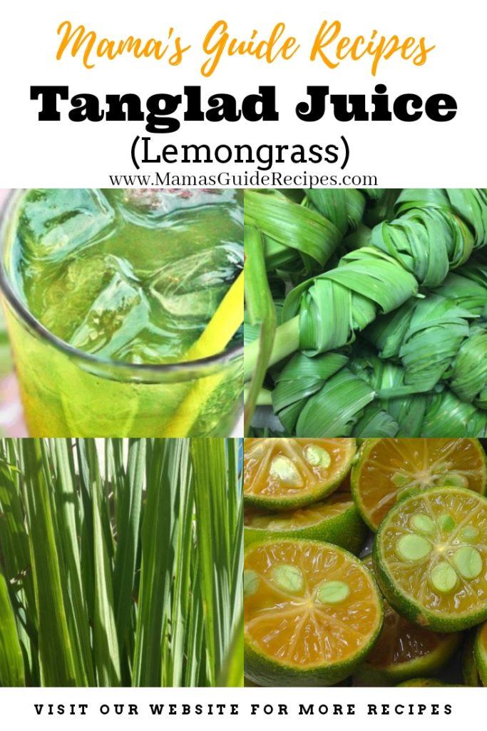 Tanglad Juice (Lemongrass)