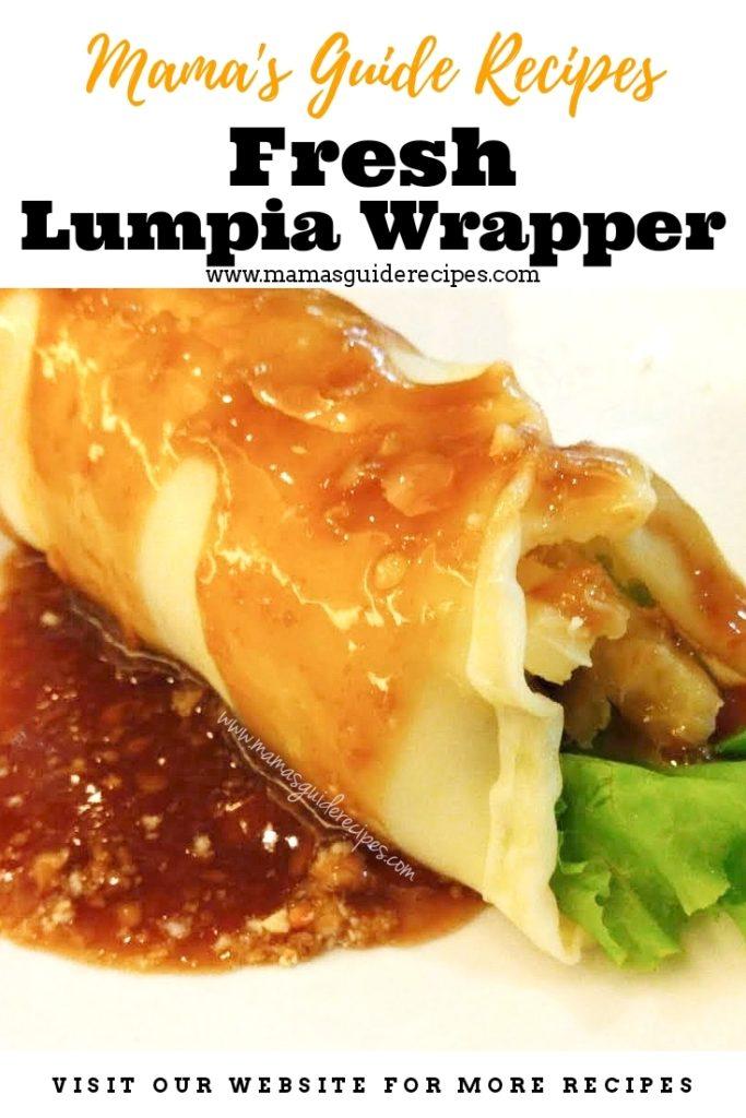 Fresh Lumpia Wrapper Recipe