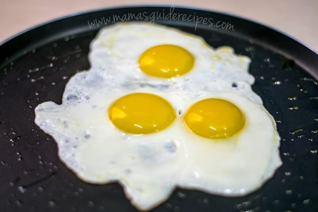 How to Make Sunny Side-up Eggs