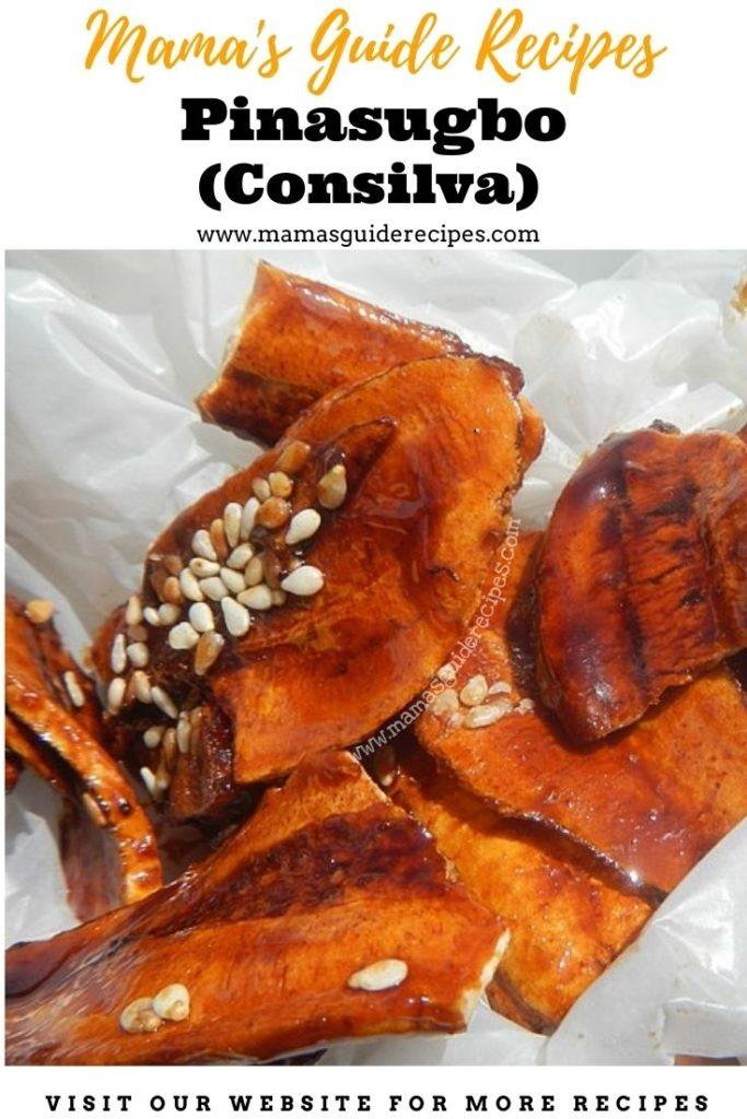 Pinasugbo Recipe (Consilva)