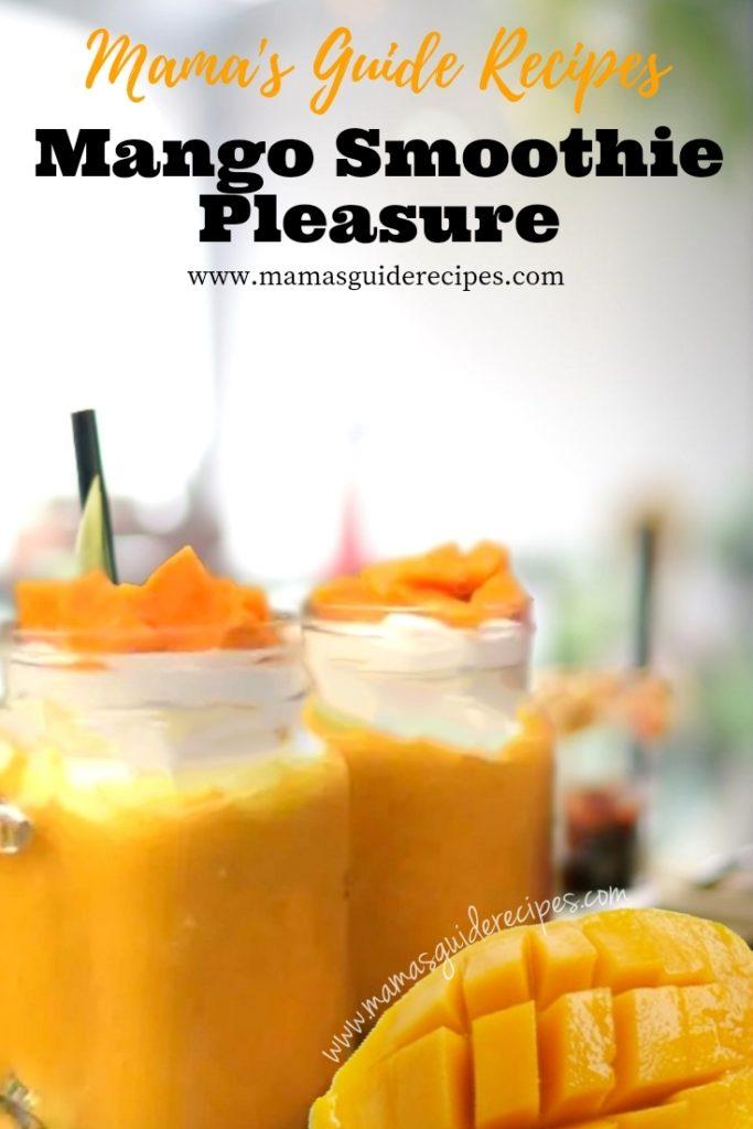 Mango Smoothie Pleasure