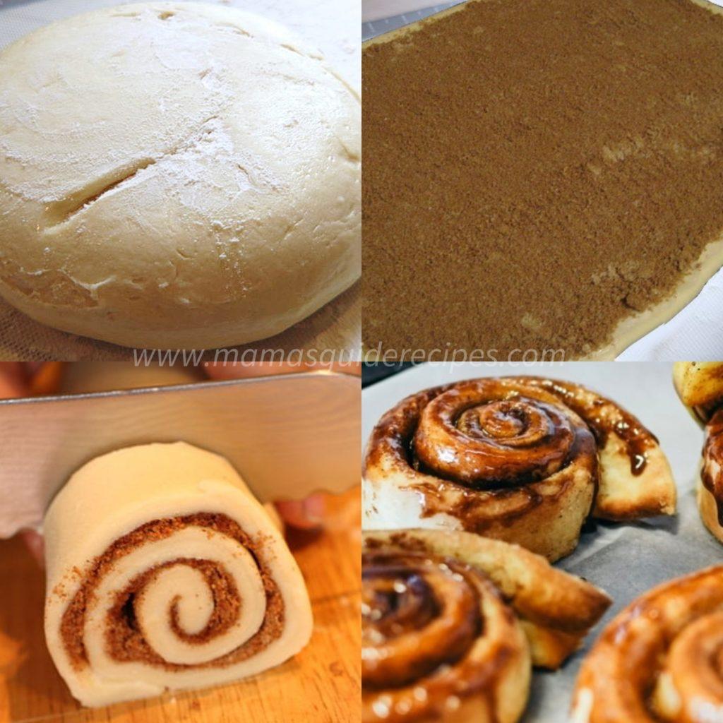 Vanilla Butterscotch Cinnamon Rolls