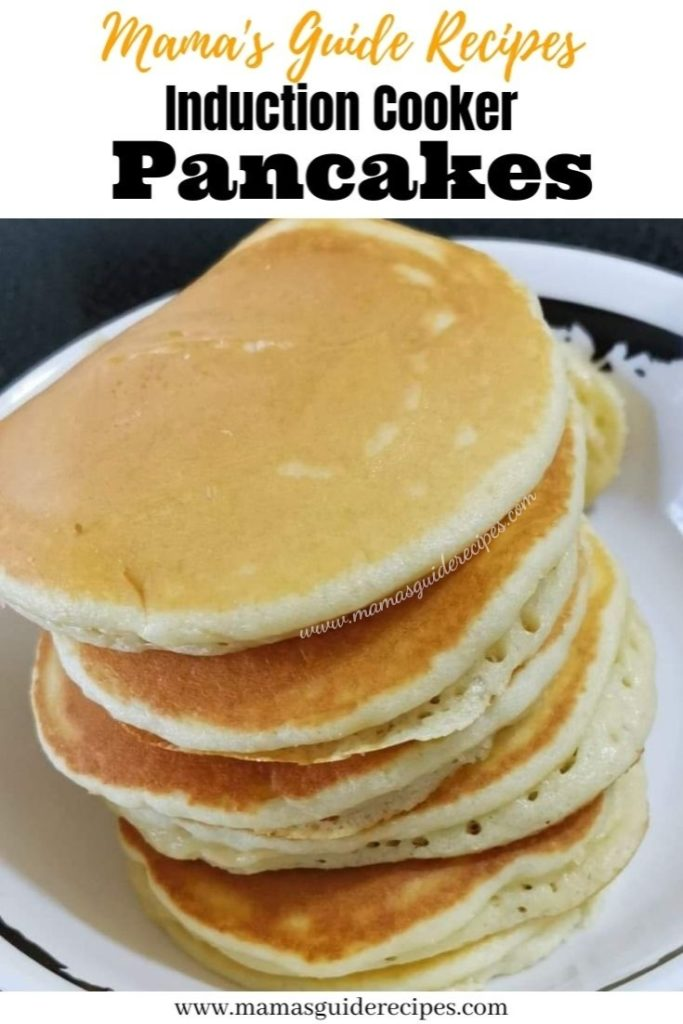 Pancakes Using Induction Cooker