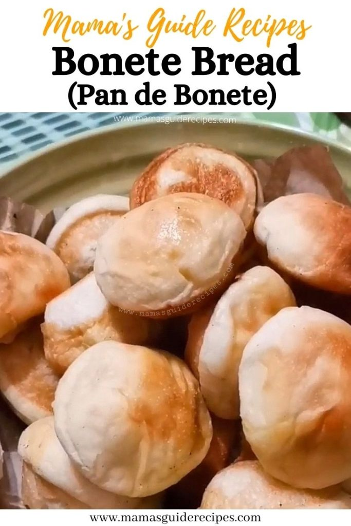 Bonete Bread (Pan de Bonete)