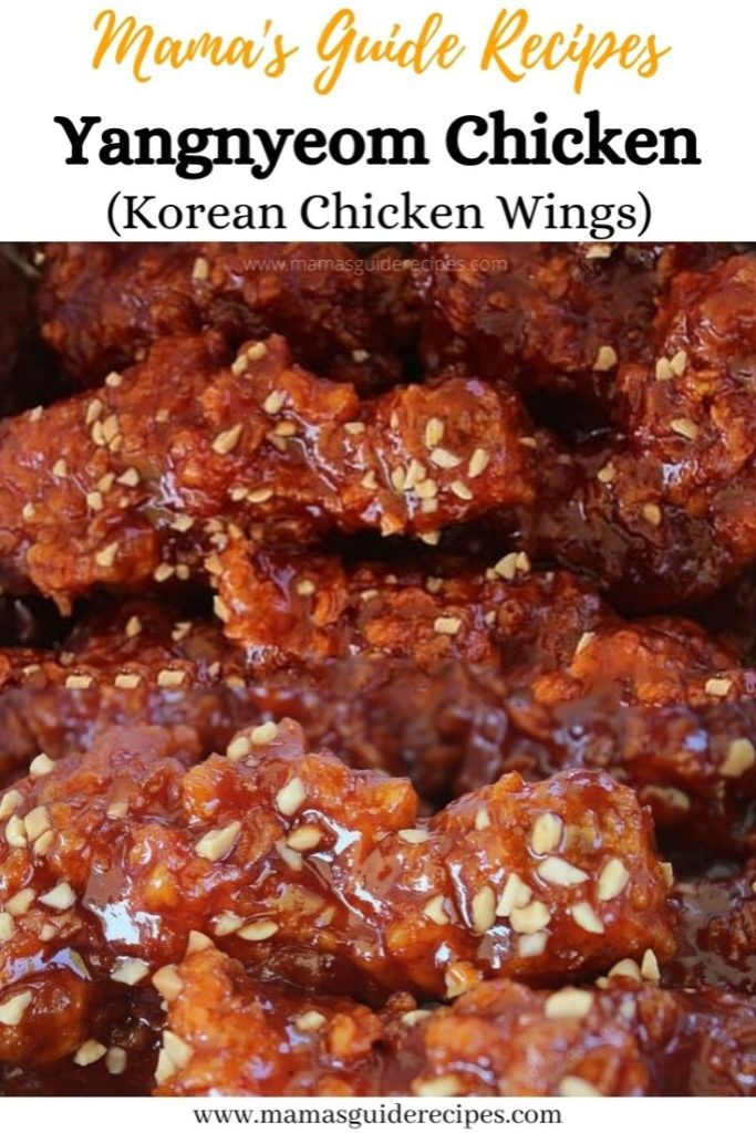Yangnyeom Chicken Recipe (Korean Chicken Wings)