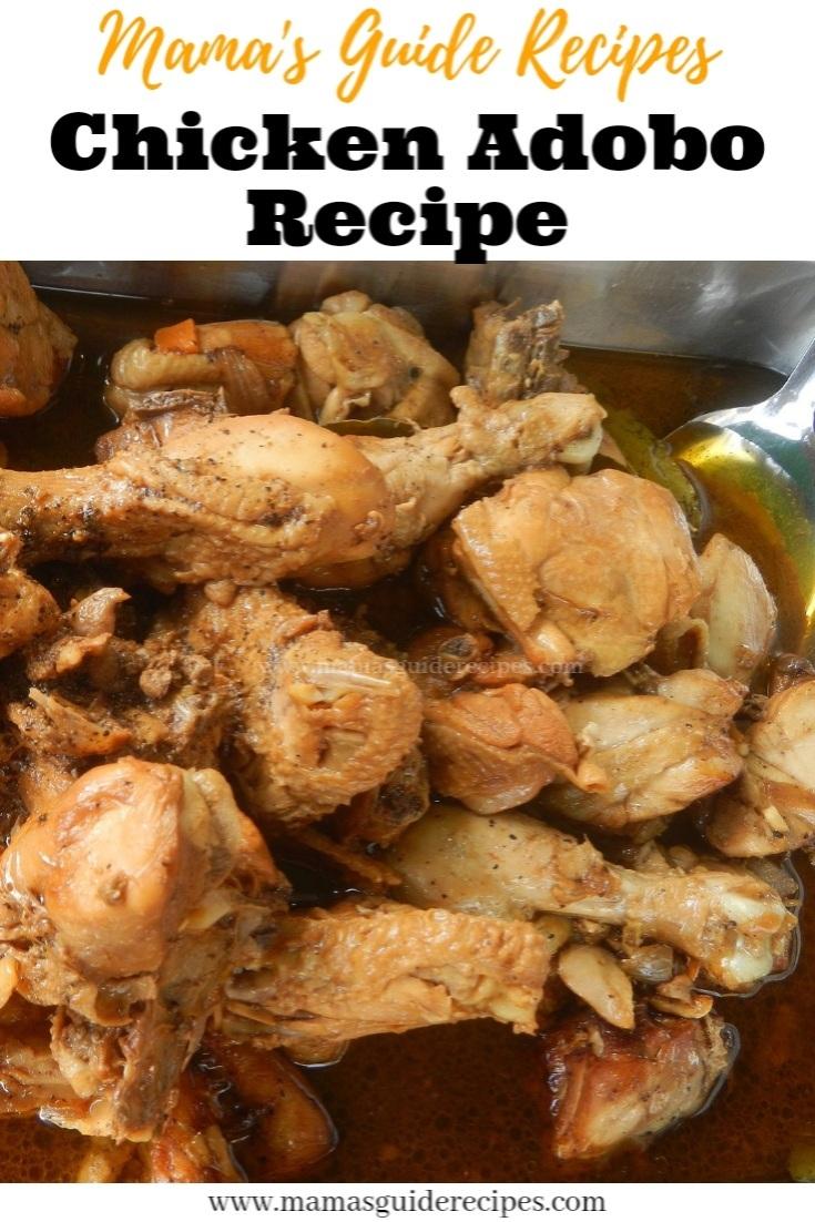 Chicken Adobo Recipe (Filipino)
