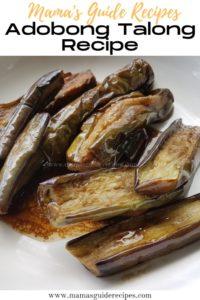 Adobong Talong Recipe