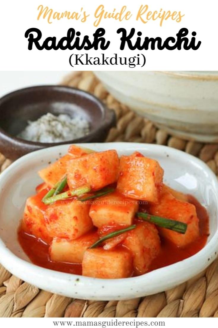 Radish Kimchi (Kkakdugi)